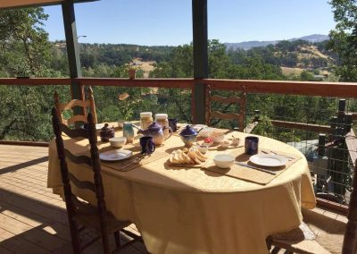 Breakfast on Deck